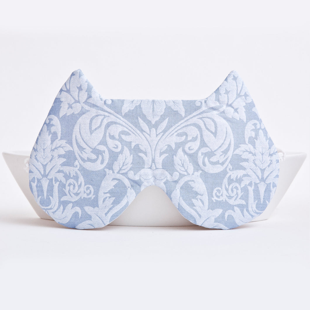 Cat Sleep Mask Floral