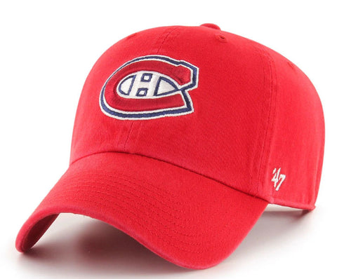 Montreal Canadiens NHL '47 CLEAN UP Hat - Red