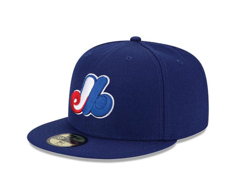 Montreal Expos New Era 59Fifty Fitted Cap - Dark Royal
