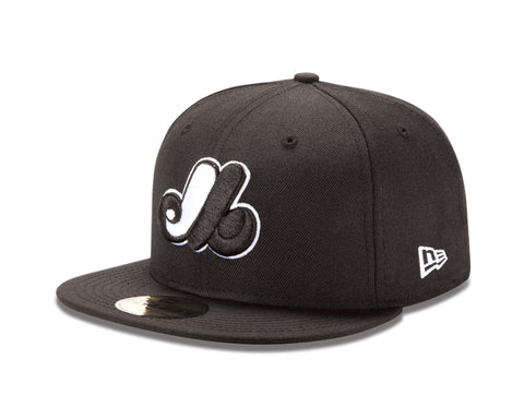 Montreal Expos New Era 59Fifty Fitted Cap - Black