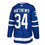 Men's Toronto Maple Leafs Auston Matthews adidas Blue Authentic Player - Jersey