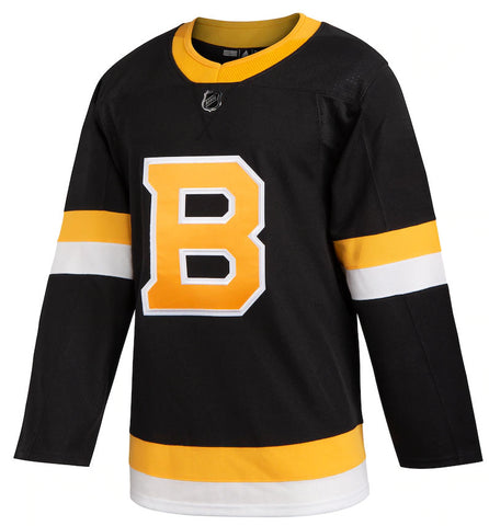 Men's Boston Bruins adidas Black Alternate - Authentic Team Jersey