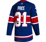 CAREY PRICE #31 Montreal Canadiens Adidas Authentic Reverse Retro Jersey - Blue