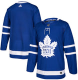 Customized Toronto Maple Leafs adidas Royal Authentic Pro - Blank Jersey