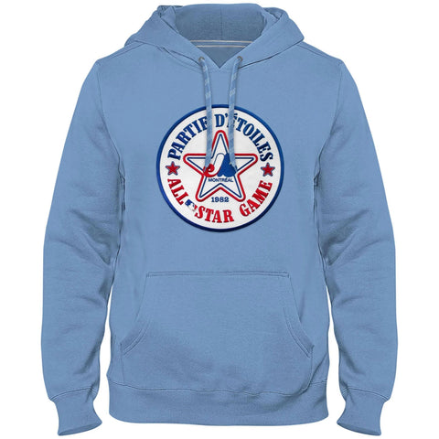 MONTREAL EXPOS COOPERSTOWN TWILL LOGO HOODY All-STAR (LIGHT BLUE) - BULLETIN