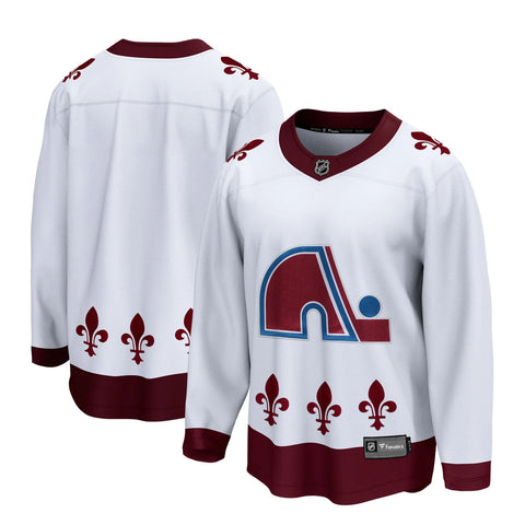 Customized Colorado Avalanche Fanatics Reverse Retro - Nordiques