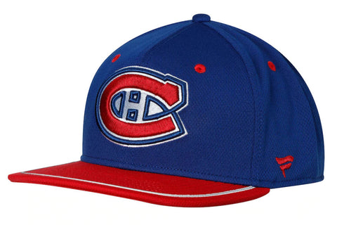 Montreal Canadiens Fanatics Iconic Adjustable Snapback Hat - Navy