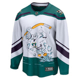 Anaheim Ducks Fanatics Branded 2020/21 Reverse Retro Breakaway Jersey - White