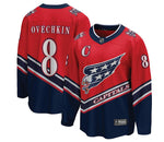 Men's Washington Capitals Alex Ovechkin Fanatics Branded Red Reverse Retro Breakaway Player Jersey