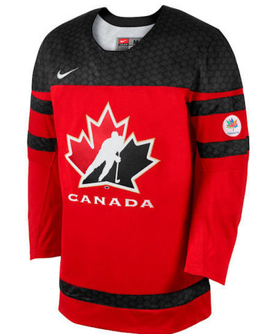 Customized TEAM CANADA IIHF OFFICIAL OFFICIAL REPLICA RED HOCKEY JERSEY - NIKE