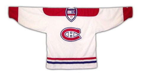 Customized Men's ANY NAME Montreal Canadiens Vintage 1984-1997 White Replica Jersey - CCM