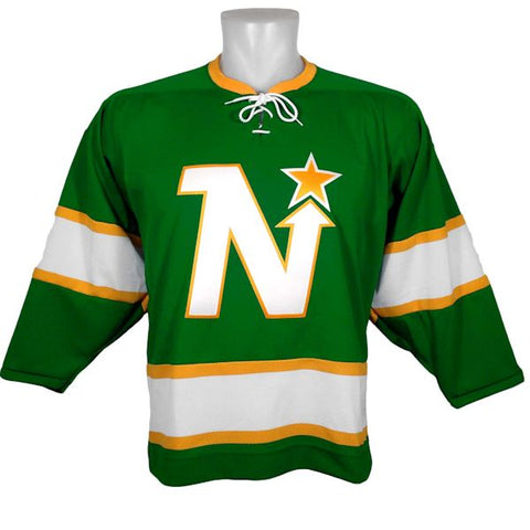Customized ANY NAME Minnesota North Stars 1967 Green Replica Jersey - CCM