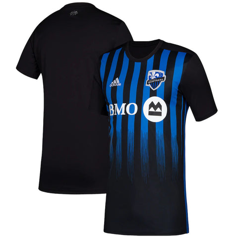Men's Montreal Impact Adidas Black 2019 Primary - Replica Jersey