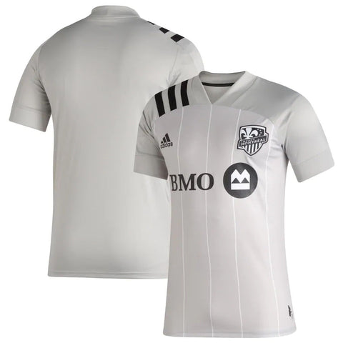 Men's Montreal Impact Adidas Gray 2020 Secondary - Replica Jersey