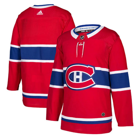 Customized Men's ANY NAME Montreal Canadiens Adidas Adizero NHL Authentic Pro Home Jersey - Red