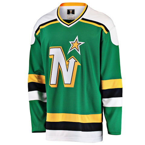 Customized Minnesota North Stars Fanatics Premier Breakaway Heritage Jersey - Green
