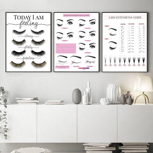 Eyelash Extension Style Guide