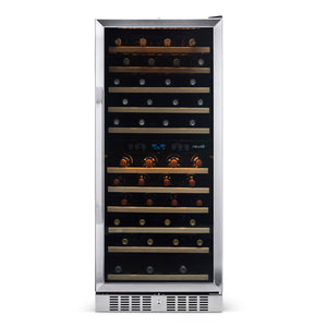 "NewAir 27"" Built-in 116 Bottle Dual Zone Compressor Wine Fridge (AWR-1160DB) - Shop For Kitchens"