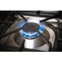 "ILVE 24"" Nostalgie Series Gas Range with Brass Trim in Stainless Steel (UPN60DVGGI) - Shop For Kitchens"