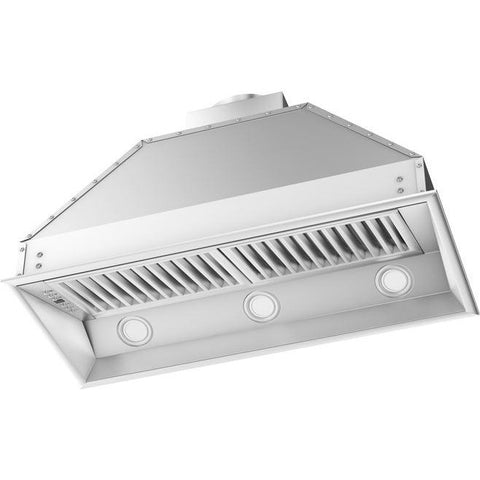 Image of ZLINE 34 in. 1200 CFM Remote Blower Range Hood Insert in Stainless Steel (698-RD-34) - Shop For Kitchens