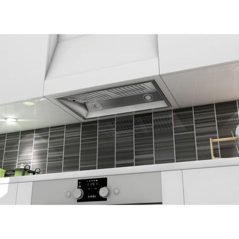 Image of ZLINE 28 in. 1200 CFM Remote Blower Range Hood Insert in Stainless Steel (698-RD-28) - Shop For Kitchens