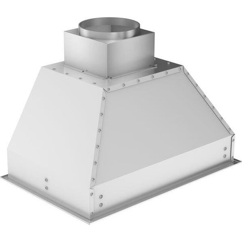 Image of ZLINE 46 in. 400 CFM Remote Blower Range Hood Insert in Stainless Steel (698-RS-46-400) - Shop For Kitchens