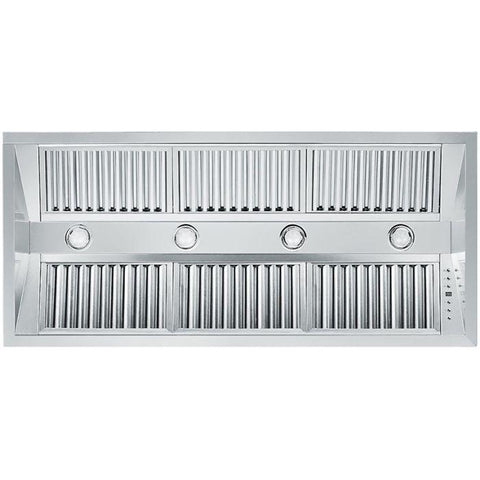 ZLINE 46 in. 1200 CFM Range Hood Island Insert in Stainless Steel (824i-46) - Shop For Kitchens