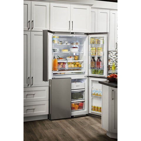 "THOR Kitchen 36"" 4 Door French Door Refrigerator with Ice Maker (HRF3603F) - Shop For Kitchens"