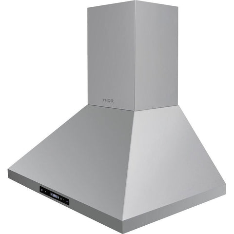 Thor Kitchen 30 in. Wall Mount LED Light Range Hood in Stainless Steel (HRH3007)