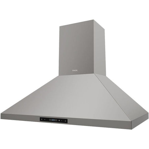 Thor Kitchen 36 in. Wall Mount LED Light Range Hood in Stainless Steel (HRH3607)