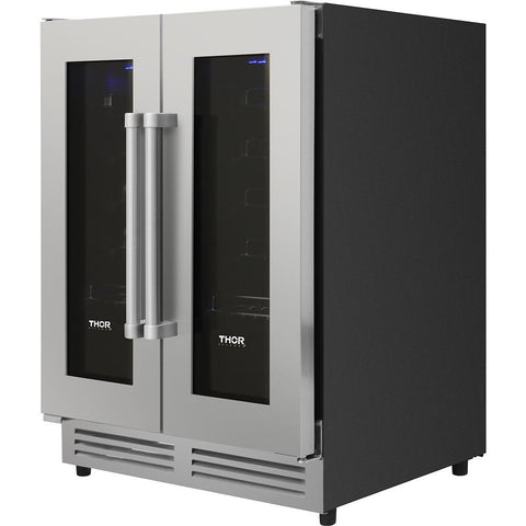 THOR Kitchen 42 Bottle Dual Zone Built-in Wine Cooler (TWC2402)