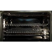 "ILVE 30"" Majestic II Series Dual Fuel Natural Gas Range with 5 Burners 2.3 cu. ft. Oven Capacity TFT Oven Control Display Chrome Trim in Midnight Blue (UM30DQNE3MBC) - Shop For Kitchens"