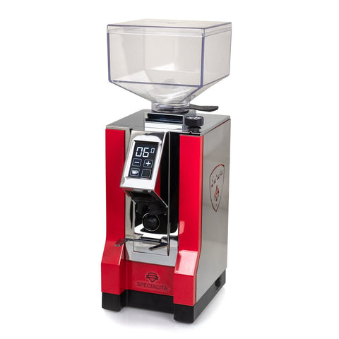 Image of Eureka Mignon Specialita Espresso Grinder in Black in Ferrari Red (GRN724G0880) - Shop For Kitchens