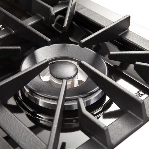 "Image of FORNO 36"" Galiano Dual Fuel Range with 6 Burners and Convection Oven (FFSGS6156-36) - Shop For Kitchens"