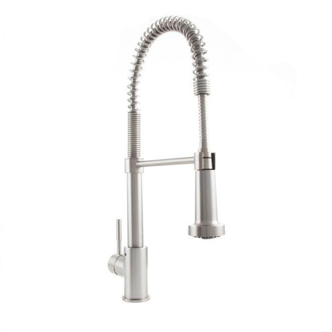 ZLINE Apollo Kitchen Faucet in Brushed Nickel (APL-KF-BN) - Shop For Kitchens