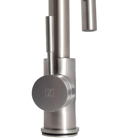 ZLINE Sierra Kitchen Faucet in Brushed Nickel (SRA-KF-BN) - Shop For Kitchens