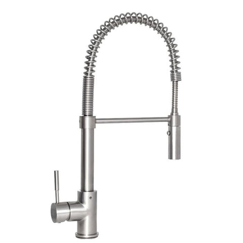 Image of ZLINE Sierra Kitchen Faucet in Brushed Nickel (SRA-KF-BN) - Shop For Kitchens