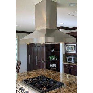"Imperial 635 CFM 48"" Stainless Steel Wall Mounted Range Hood with Dual Blowers (WHP1948PSB‐SS) - Shop For Kitchens"