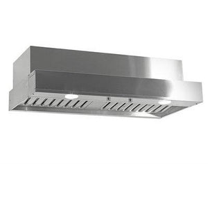 "Imperial 1290 CFM 60"" Stainless Steel Insert Range Hood with Dual Blowers (C2060PS1‐TWB‐8‐SS) - Shop For Kitchens"