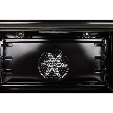 "Image of ILVE 30"" Nostalgie Series Dual Fuel Natural Gas Range with 5 Sealed Burners 3 cu. ft. Capacity True Convection Oven with Brass Trim in Stainless Steel (UPN76DMPI) - Shop For Kitchens"