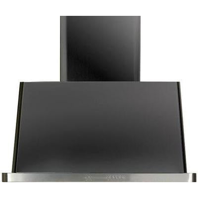 "Image of ILVE 36"" Majestic Matte Graphite Wall Mount Range Hood with 850 CFM Blower - Auto-off Function (UAM90MG) - Shop For Kitchens"