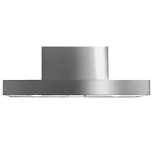 Imperial 810 CFM 36 Inch Island Range Hood with Heat Controlled Thermostat (ISN2036PSSB‐8‐SS) - Shop For Kitchens