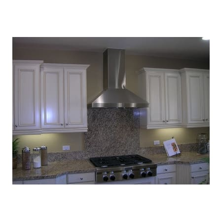 "Image of Imperial 1290 CFM 48"" Stainless Steel Wall Mounted Range Hood with Dual Blowers (WHP1948PS1‐TWB‐8‐SS) - Shop For Kitchens"