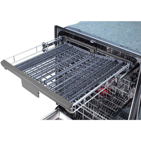 "Image of Thor Kitchen 24"" Quiet Dishwasher with Hidden Controls in Stainless Steel, (HDW2401SS) - Shop For Kitchens"