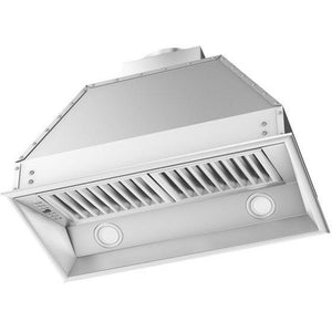 ZLINE 46 in. 400 CFM Remote Blower Range Hood Insert in Stainless Steel (698-RS-46-400) - Shop For Kitchens