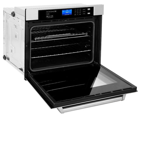 Image of ZLINE 30 In. Professional Single Wall Oven in Stainless Steel (AWS-30) - Shop For Kitchens