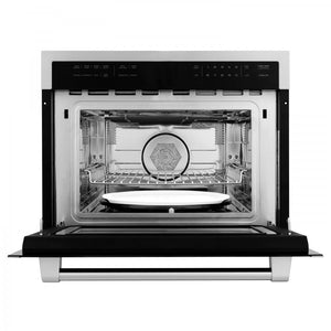 "ZLINE 24"" Microwave Oven in Stainless Steel (MWO-24) - Shop For Kitchens"