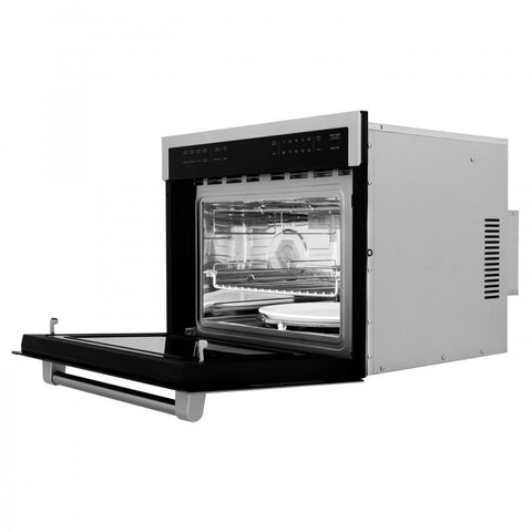 "Image of ZLINE 24"" Microwave Oven in Stainless Steel (MWO-24) - Shop For Kitchens"