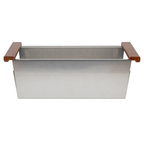 Image of ZLINE 33 inch Garmisch Undermount Single Bowl Sink in DuraSnow® Stainless Steel with Accessories (SLS-33S) - Shop For Kitchens