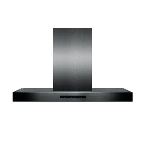 Image of ZLINE 30 inch 400 CFM Wall Mount Range Hood in Black Stainless Steel (BSKEN-30) - Shop For Kitchens